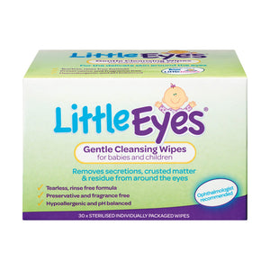 Little Eyes Wipes 30s