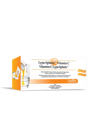 Livon Lypo-Spheric Vitamin C 30 Packets