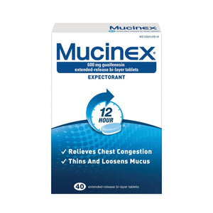 Mucinex SE 600mg Tablets