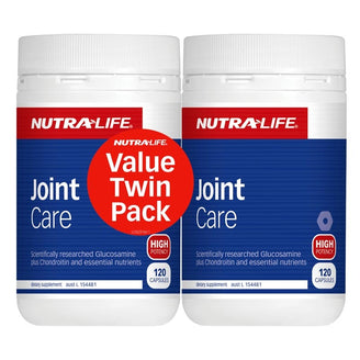 Nutra Life Joint Care twin pack 120 caps