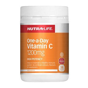 Nutra Life Vitamin C 1200mg chews