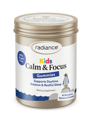 Radiance Kids Gummies Calm and Focus 45s