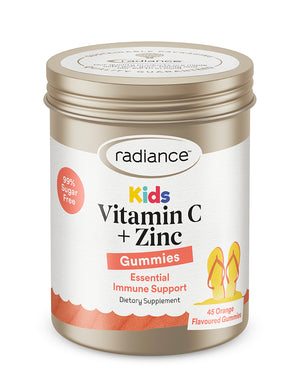 Radiance Kids Gummies Vitamin C Plus Zinc