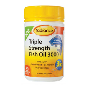 Radiance Triple Strength Fish Oil 3000mg