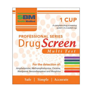 SBM Professional Drug Screen Multi Test 1 cup