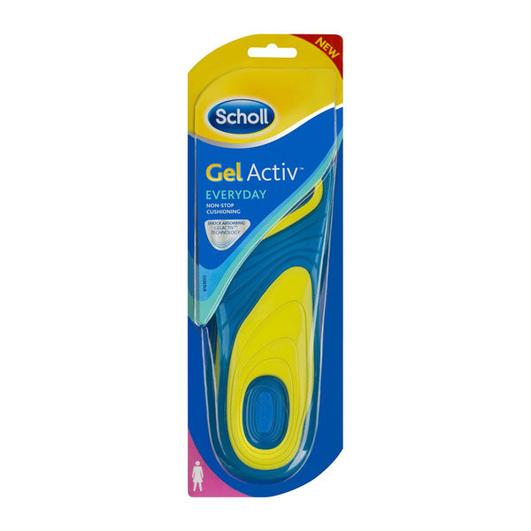 Scholl GelActiv Insoles Everyday Women