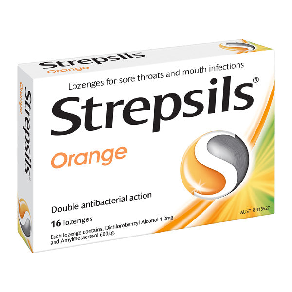 Strepsils Orange Lozenges