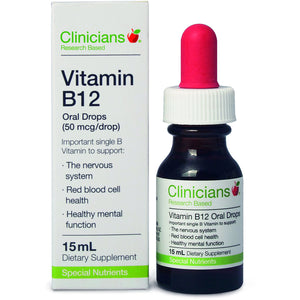 Clinicians Vitamin B12 Oral Drops