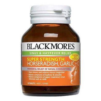 Blackmores Horseradish Garlic Plus C