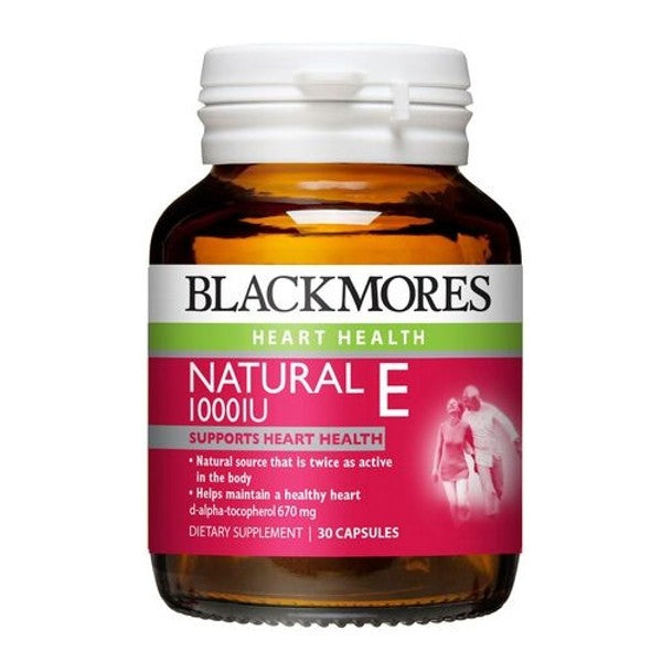 Blackmores Natural E 500iu