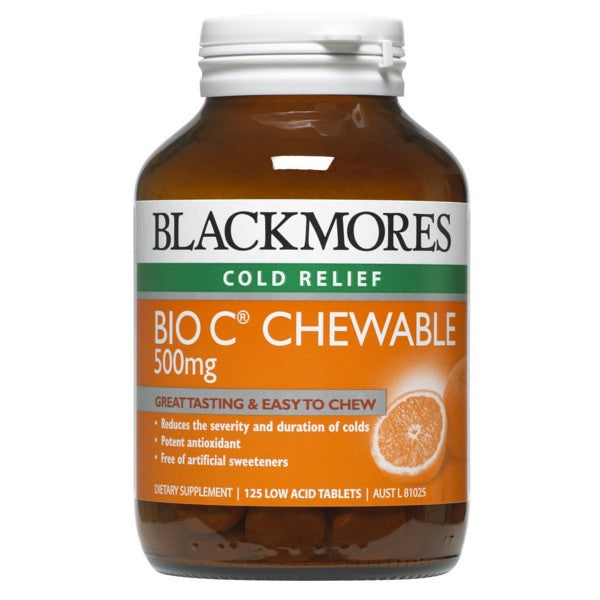 Blackmores Bio C Chewable 500mg