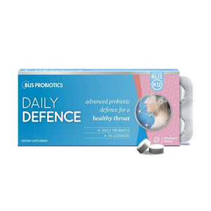 Blis K12 Daily Defence Strawberry Lozenges 30s