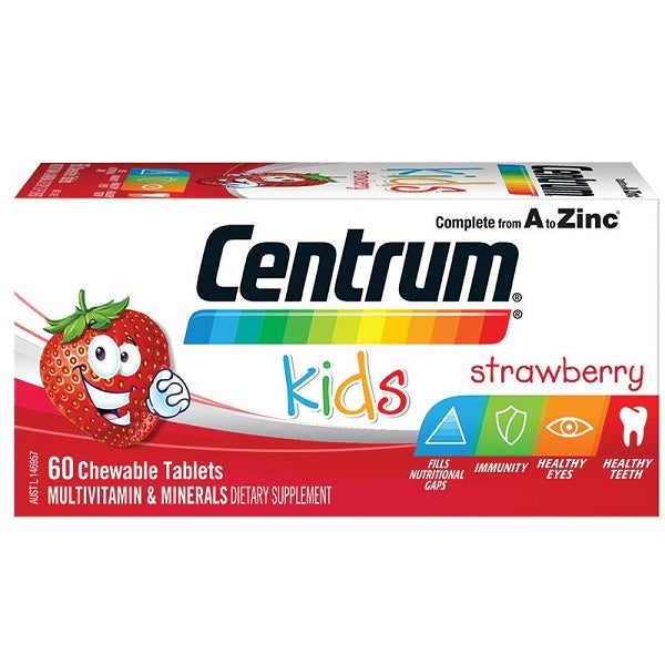 Centrum Kids Strawberry Chew Multi Vitamin