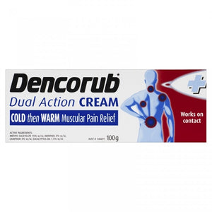 Dencorub Dual Action Cream 100g