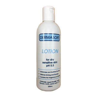 Dermasoft Lotion 250ml (For Dry Sensitive Skin pH 5.5)