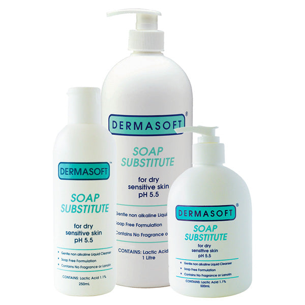 Dermasoft Soap Substitute (For Dry Sensitive Skin pH 5.5)