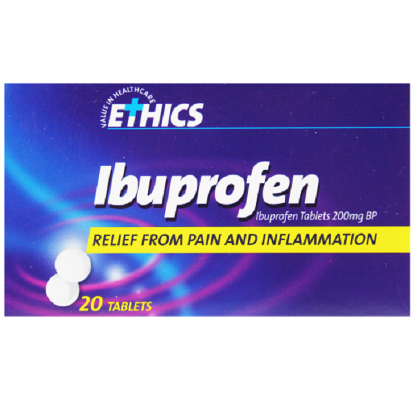 Ethics Ibuprofen Tablets 200mg F/Coat