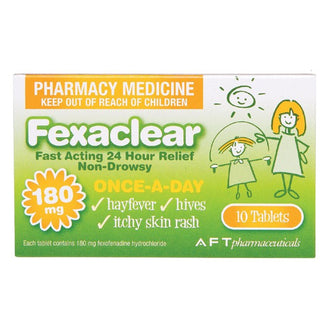 Fexaclear 180mg Tablets