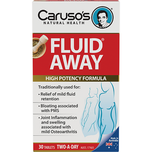 Carusos Natural Health Fluid Away 30s