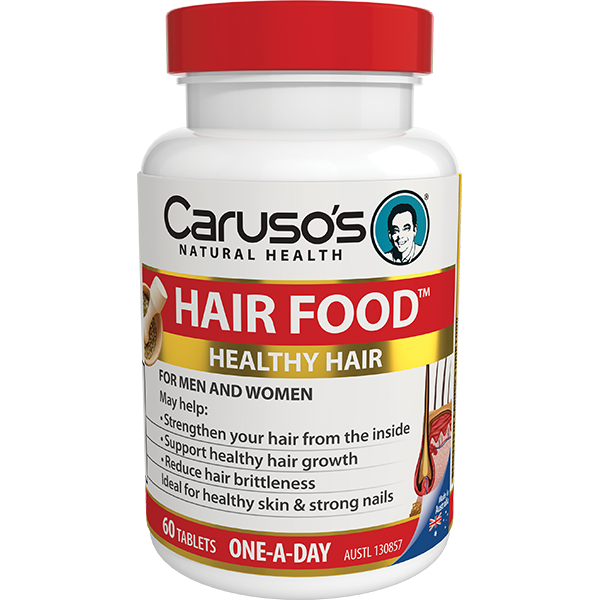 Carusos Natural Health Hair Food 60s