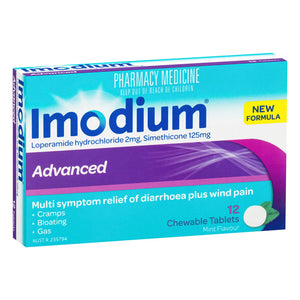 Imodium Advanced Tablets -12s