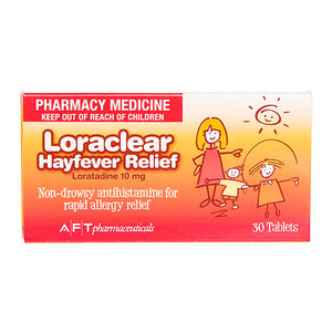 Loraclear Hayfever Relief 10mg Tablets