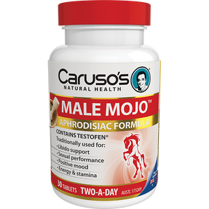 Carusos Natural Health Male Mojo 30s