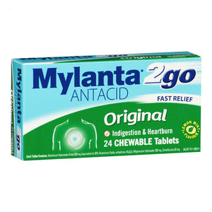 Mylanta 2Go Original Tablets 24s