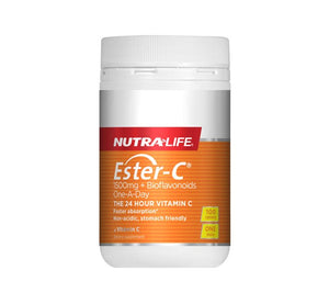 Nutra Life Ester C 1500mg Plus Bioflavonoids One-A-Day