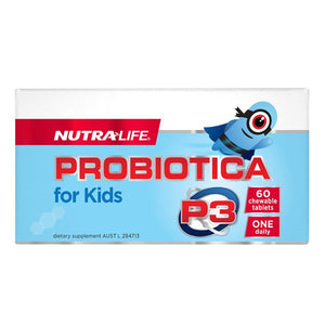 Nutra Life Probiotica P3 Kids Chew