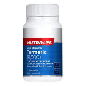 Nutra Life Turmeric 18500mg Plus Ultra Strength