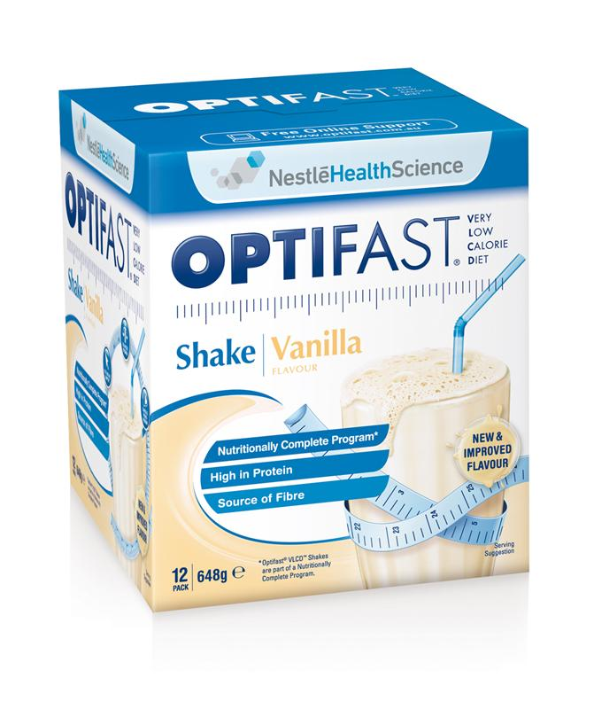 Optifast VLCD Milkshake Vanilla