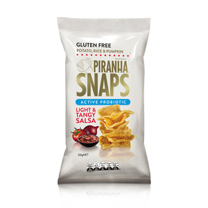 Piranha Snaps Light & Tangy Salsa 50g