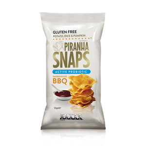 Piranha Snaps Smokehouse BBQ 50g