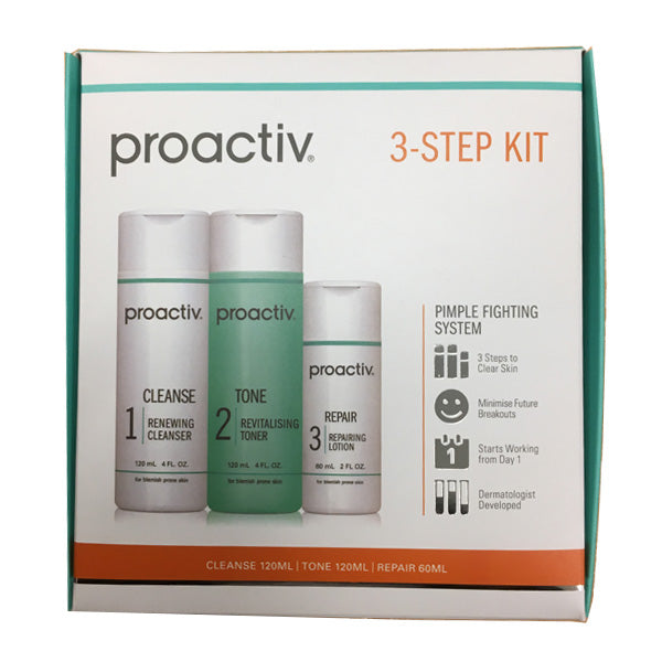 Proactiv 3-Step kit (Starts Working From Day 1)