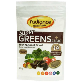 Radiance Super Greens plus Cacao