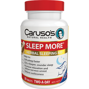 Carusos Natural Health Sleep More 30's