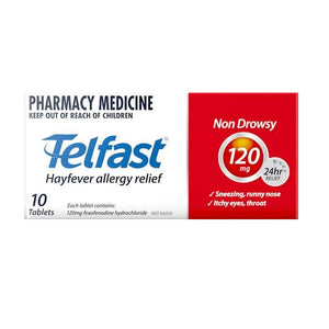 Telfast 120mg Tablets