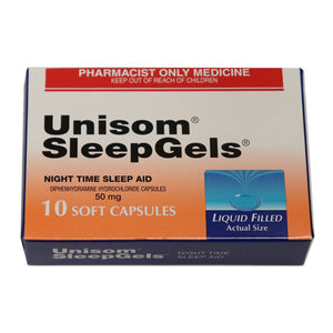 Unisom SleepGels 50mg 10 Soft Capsules