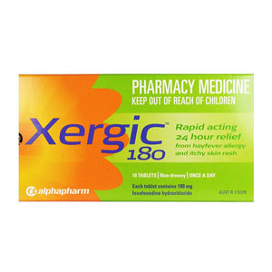 Xergic 180mg Tablets
