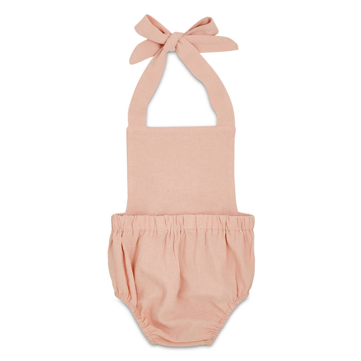 Blush Summer Baby Romper