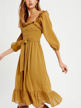 Golden Rumi Dress