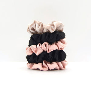 SATIN SLEEP SCRUNCHIES - ASSORTED