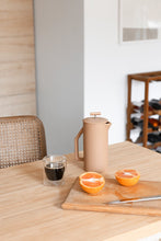 Sand Ceramic French Press by YIELD
