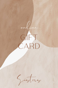SISTERS GIFT CARD