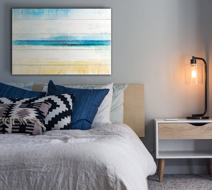Image of  Abstract Aruba with Faux Plank Lines