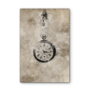 Vintage Chain Watch Photo Print on Wood