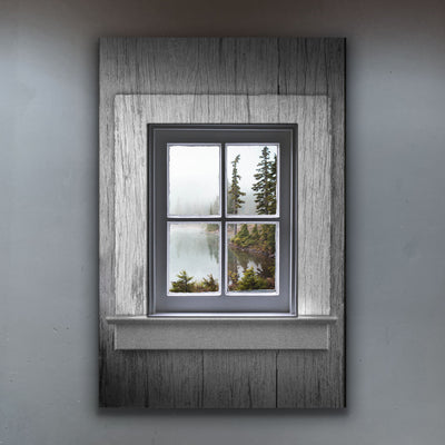 Choose Your Rustic Window View