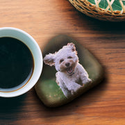 Dog Photo on Rock, Gift for Dog Lovers, Personalized Dog Gift, Pet Rock, Memorial Dog Stone, Gift for Dog Memorial, Puppy Gift