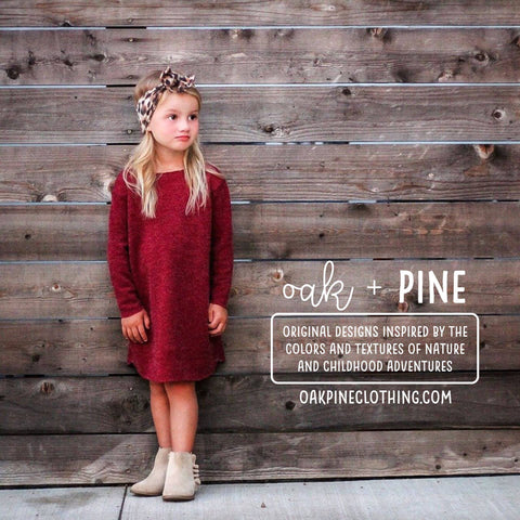 Oak+Pine Holiday Guide
